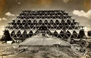 Pragati Maidan pic During Construction